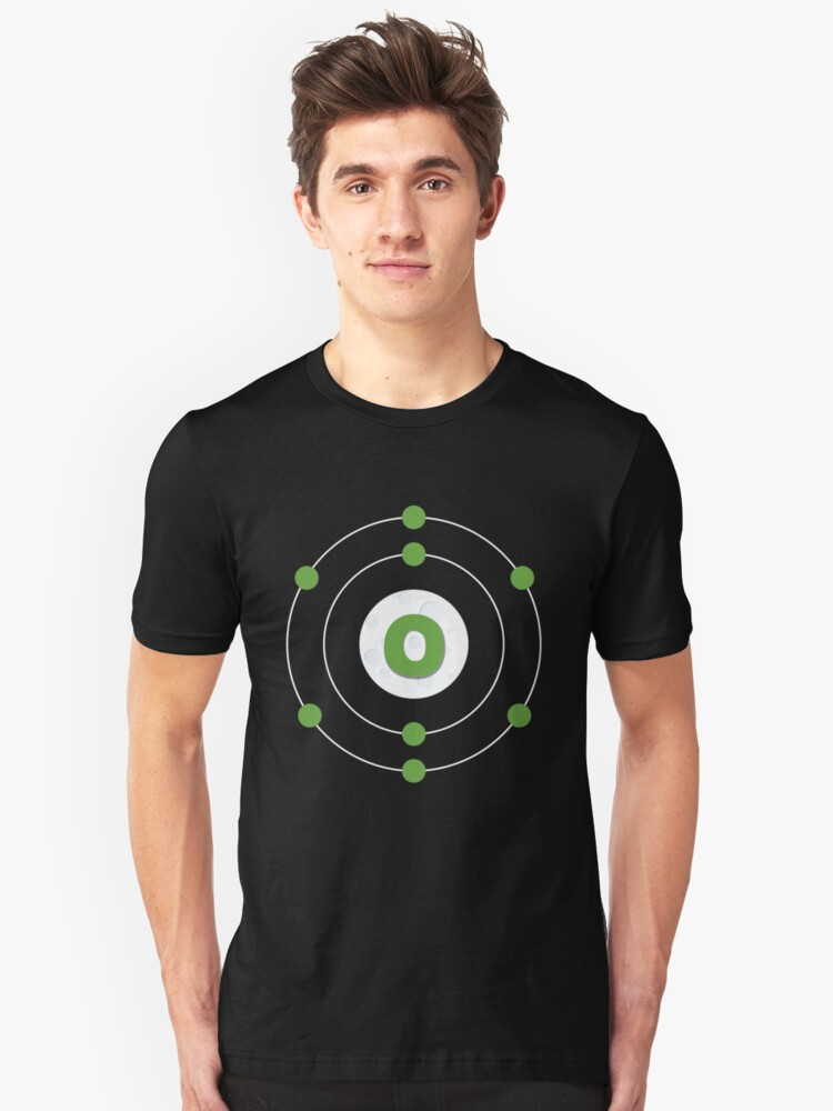 Oxygen Isotope Unisex T-Shirt Front
