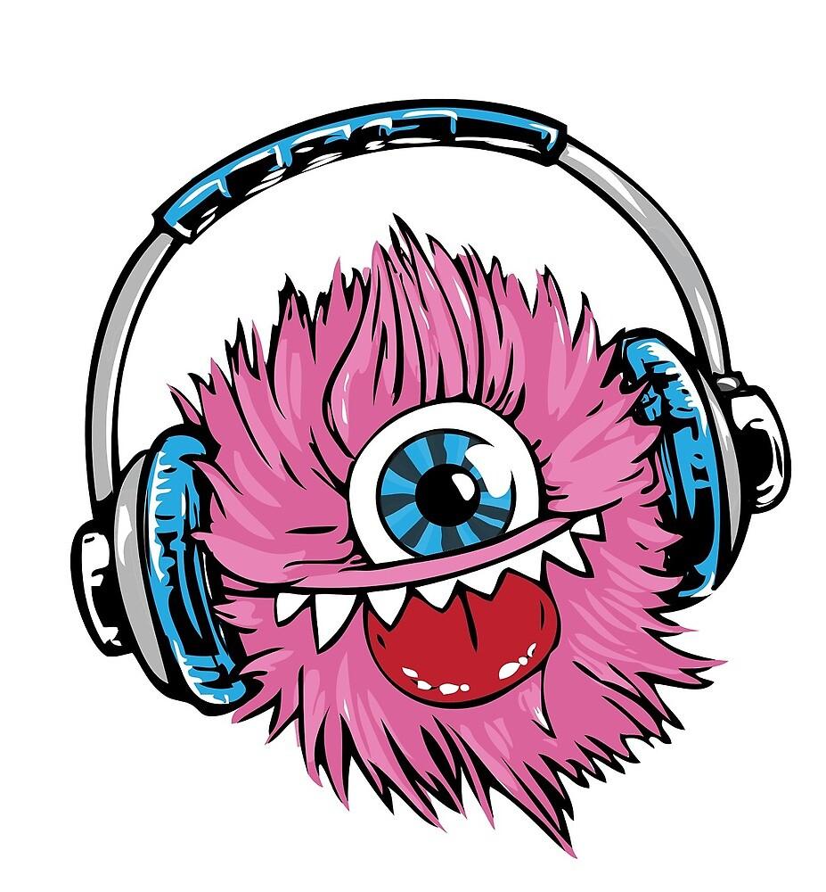 Headphone monster by melaniec79