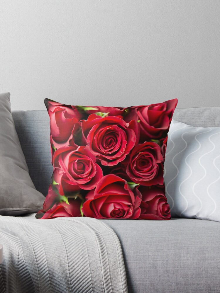 Valentine's Day Red Roses by Acrylic-Cats