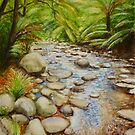 Coranderrk Creek Yarra Ranges by Dai Wynn
