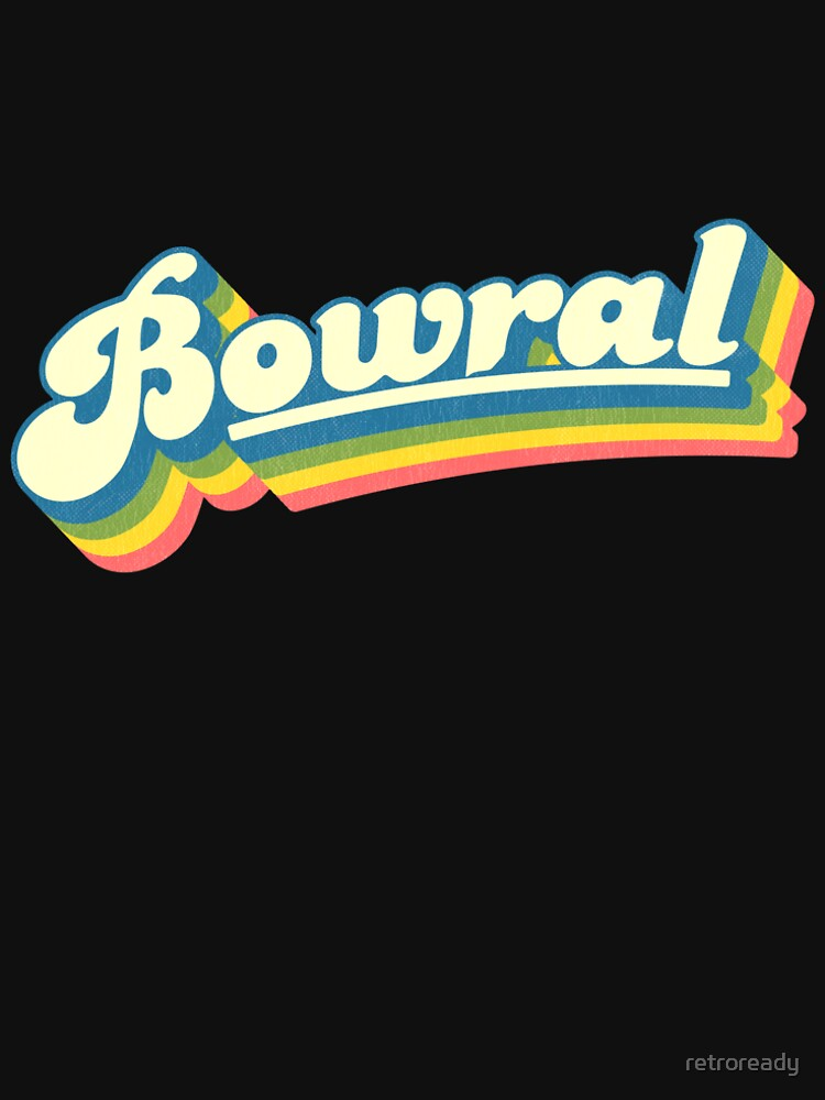 Bowral, NSW | Retro Rainbow by retroready