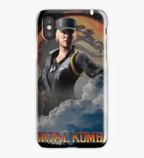 MORTAL KOMBAT SONYA BLADE GAME iPhone Case/Skin