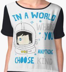 Trending Choose Kind Anti Bullying Helmet T-Shirt Shirt Chiffon Top