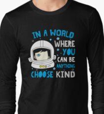 Trending Choose Kind Anti Bullying Helmet T-Shirt Shirt Long Sleeve T-Shirt