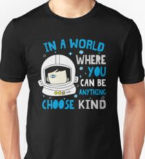 Trending Choose Kind Anti Bullying Helmet T-Shirt Shirt Unisex T-Shirt
