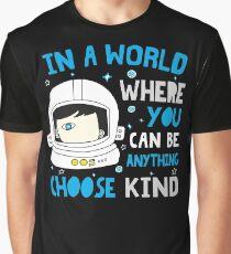 Trending Choose Kind Anti Bullying Helmet T-Shirt Shirt Graphic T-Shirt