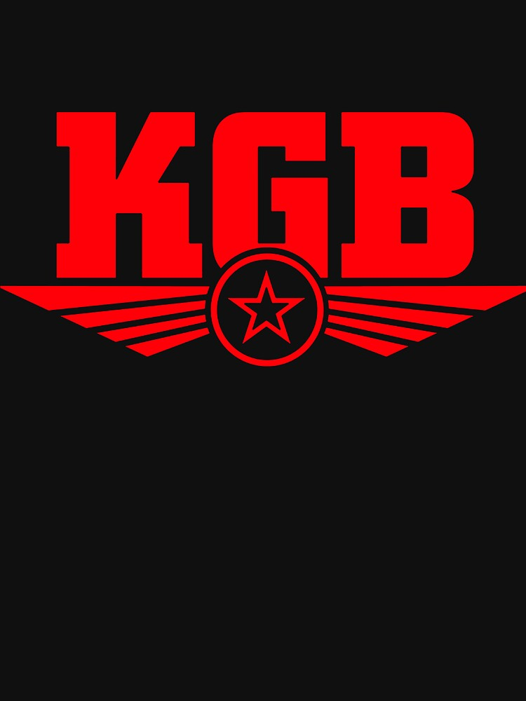 oviet KGB Red Logo by sellyloly