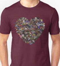 Monsters in our hearts! T-Shirt