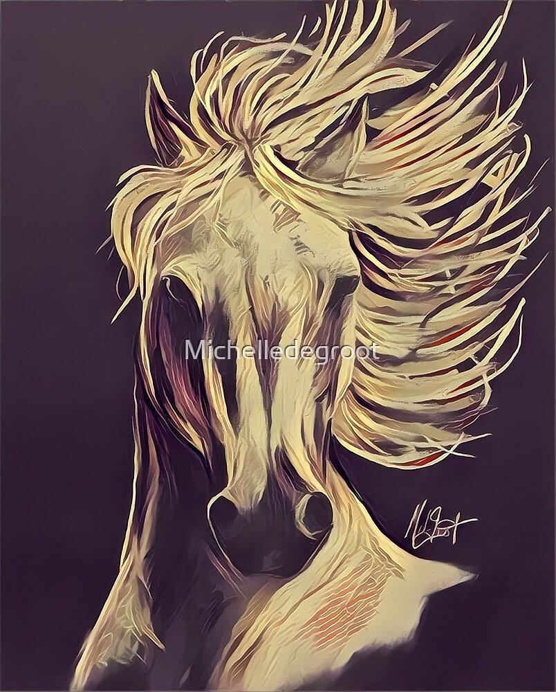 Stallion by Michelledegroot