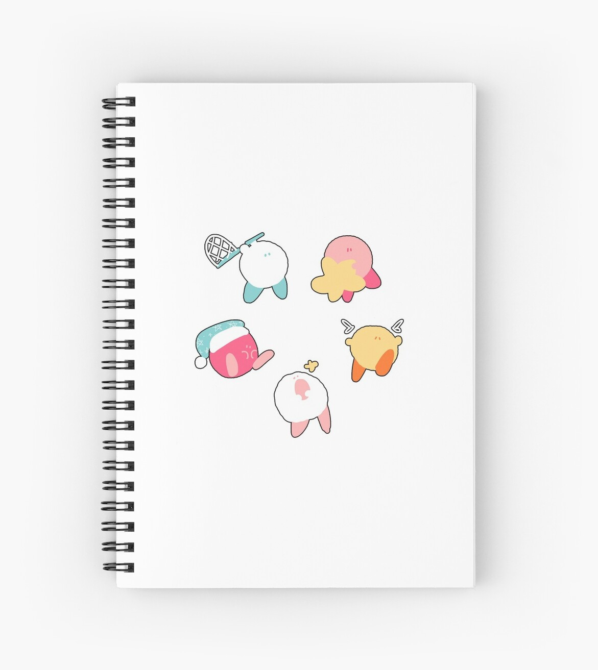 Kawaii Cute Kirby Stickers by Rainubrew .