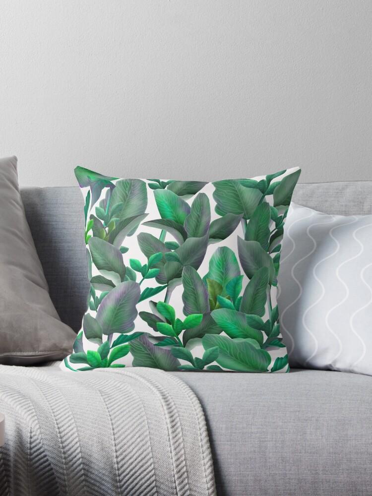 Tropical leaf pattern by ADZKIYYA DESIGN