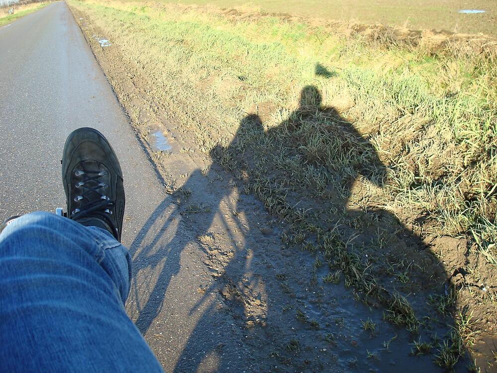 Me and my USVA comfort bike. by Rob van Hooff