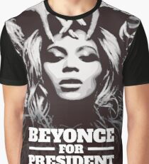 Beyonce For President 2020 Graphic T-Shirt