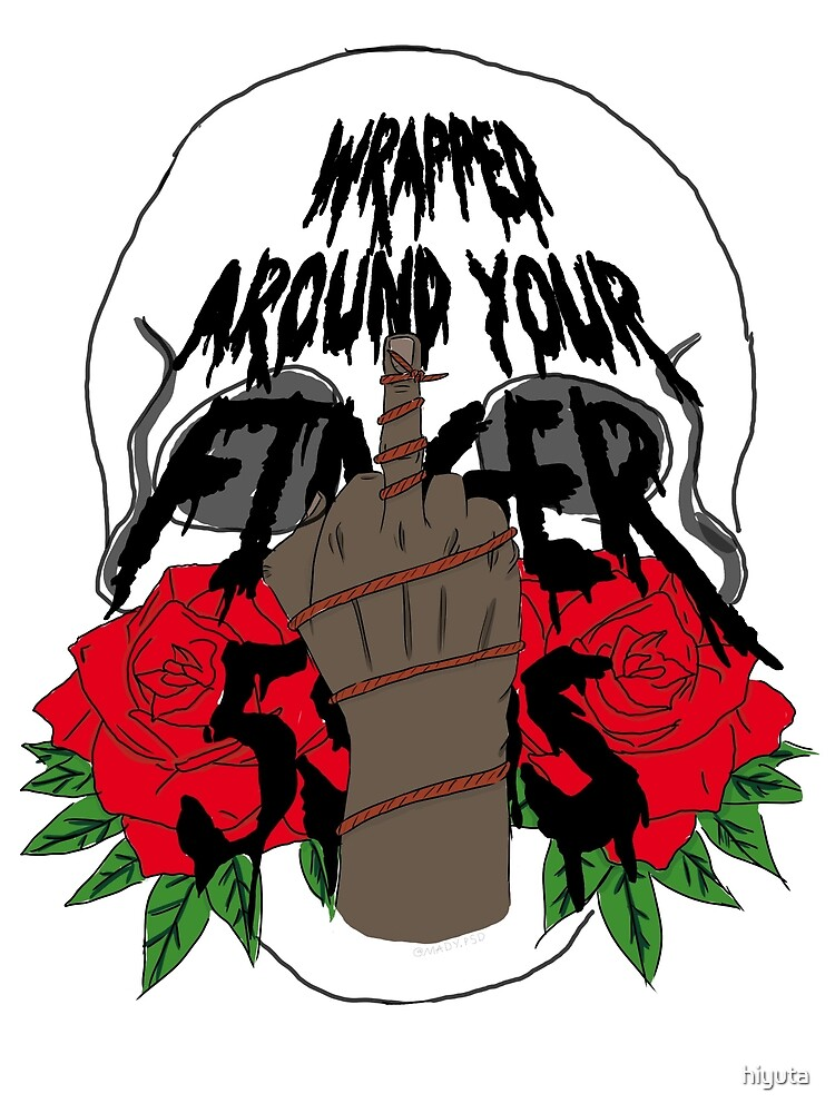 Wrapped Around Your Finger - Graphic by hiyuta