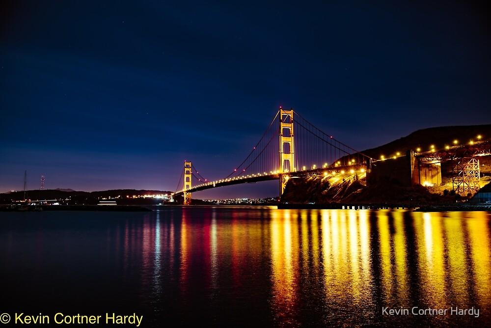 Golden Gate Bridge by Kevin Cortner Hardy