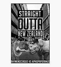 Lámina fotográfica Rhymenocerous Hiphopopotamus Vuelo de los Conchords