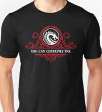 Game Master-Zitate, die Sie mit Sicherheit ausprobieren können Unisex T-Shirt
