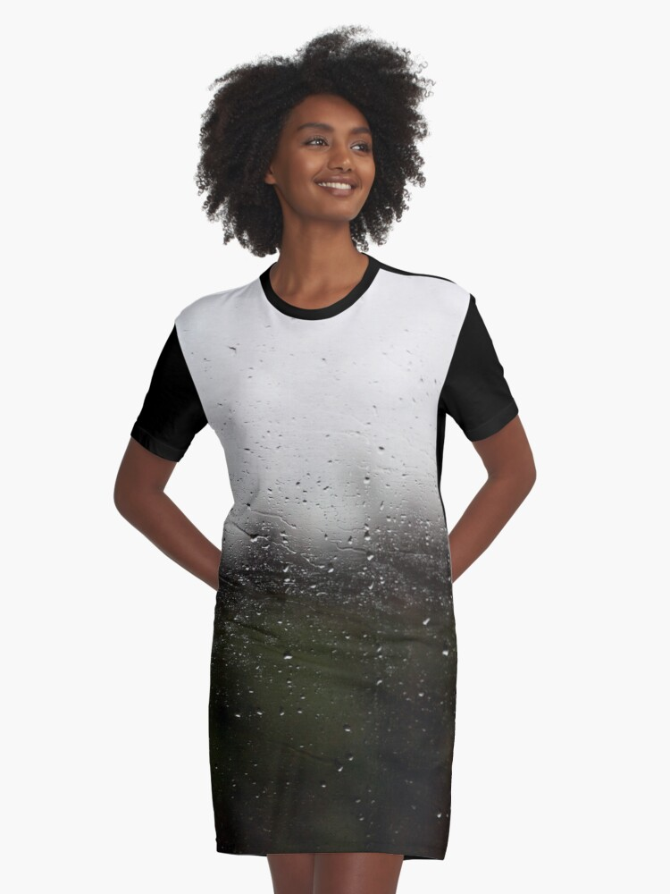 Water as Life - Alternative II Graphic T-Shirt Dress Front