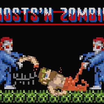 Ghosts'n Zombies - Arcade Jokes by NuBus
