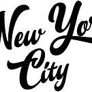 New York City Handwritting by Chocodole
