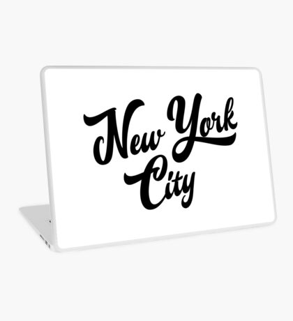 New York City Handwritting Laptop Skin