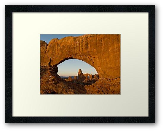 Turret through North Window by Dan Sweeney
