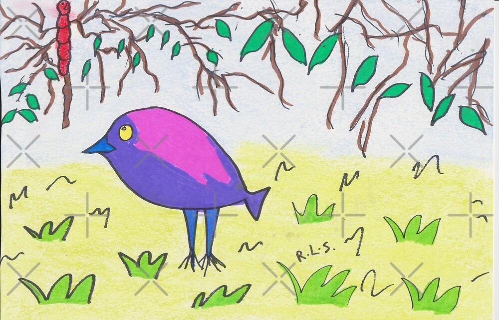 Pipette Bird by ArtistRebeccaLS