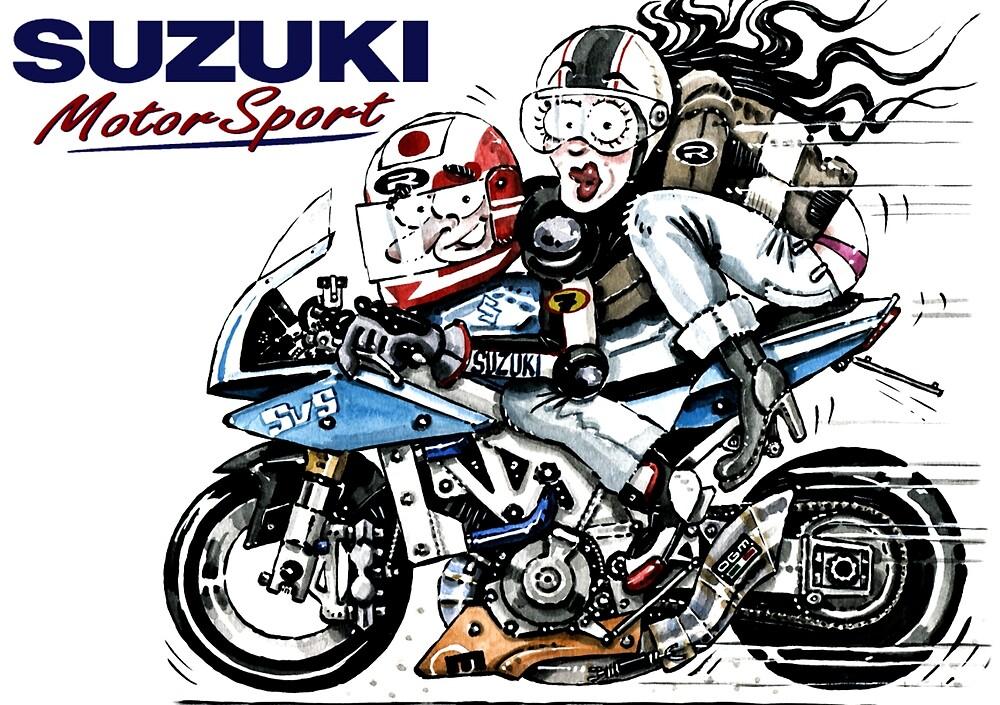 Suzuki comics art 1 by Viperdesign