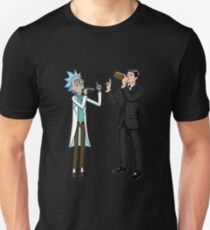 Rick And Archer Drink Wine Unisex T-Shirt