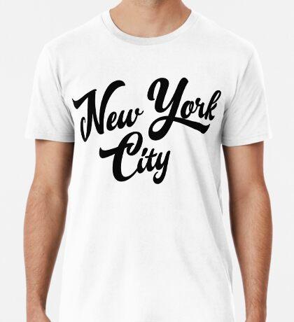New York City Handwritting Premium T-Shirt