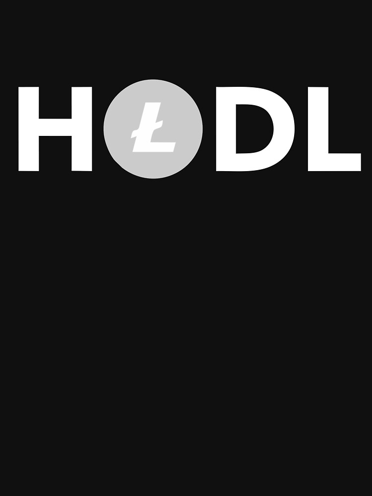 HODL Litecoin Merchandise by CharlesGrainger