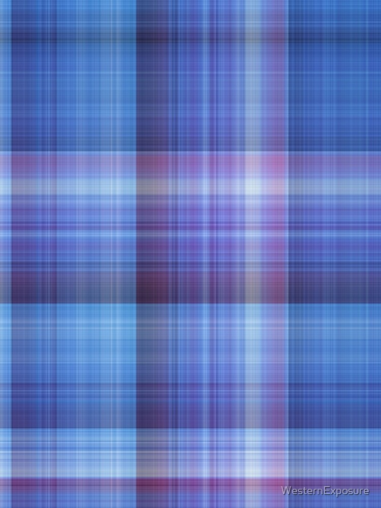 Just Plum Plaid by WesternExposure