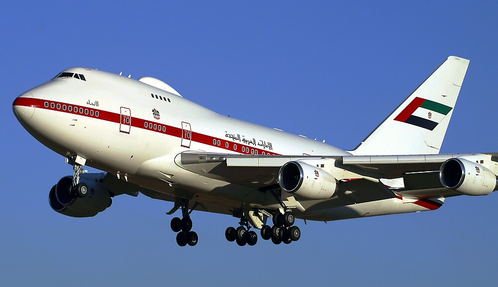 United Arab Emirates 747SP by ScottH711