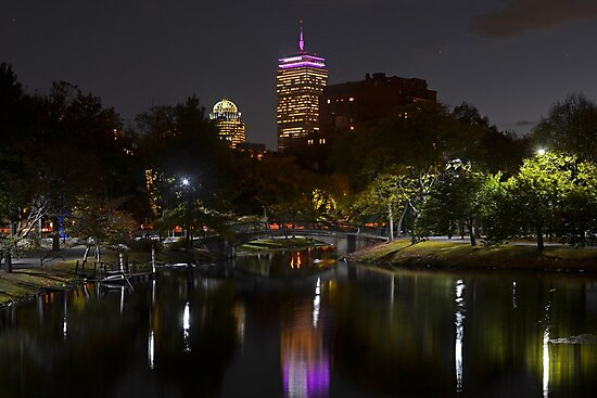 Prudential over the Charles River by WayneOxfordPh