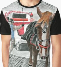 Carriage Ride Graphic T-Shirt