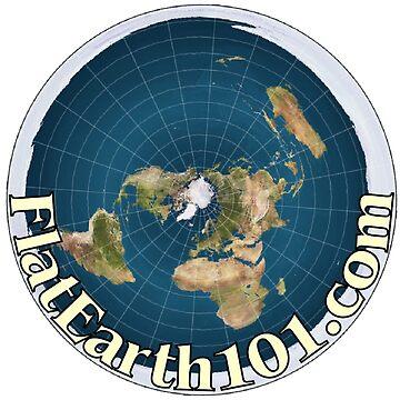FlatEarth101.com - Flat Earth Map by truthpirates