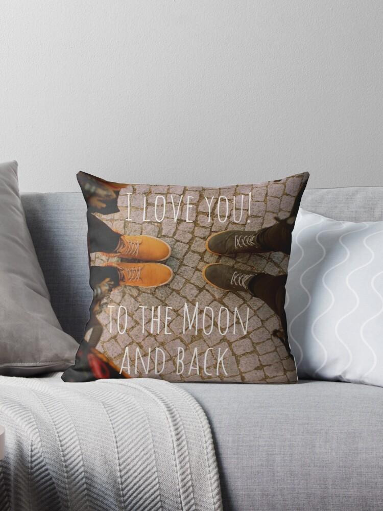 I love you! to the moon and back by inkpious