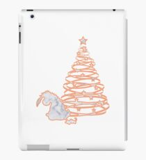 Donkey at Christmas Marble Silhouette iPad Case/Skin