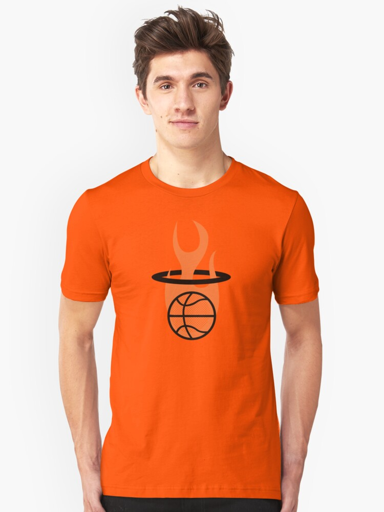 He's on Fire! Unisex T-Shirt Front