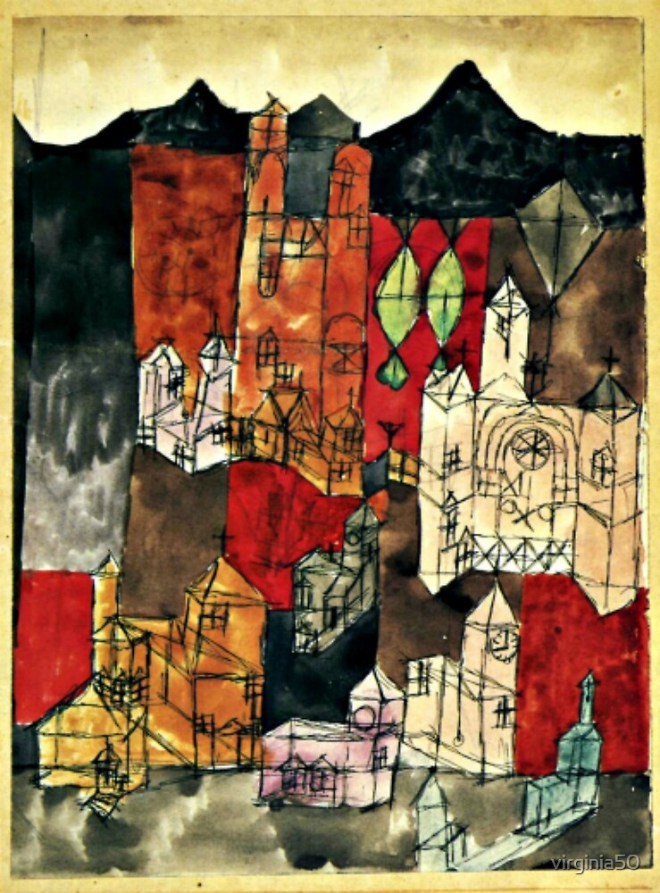 Klee - City of Churches by virginia50