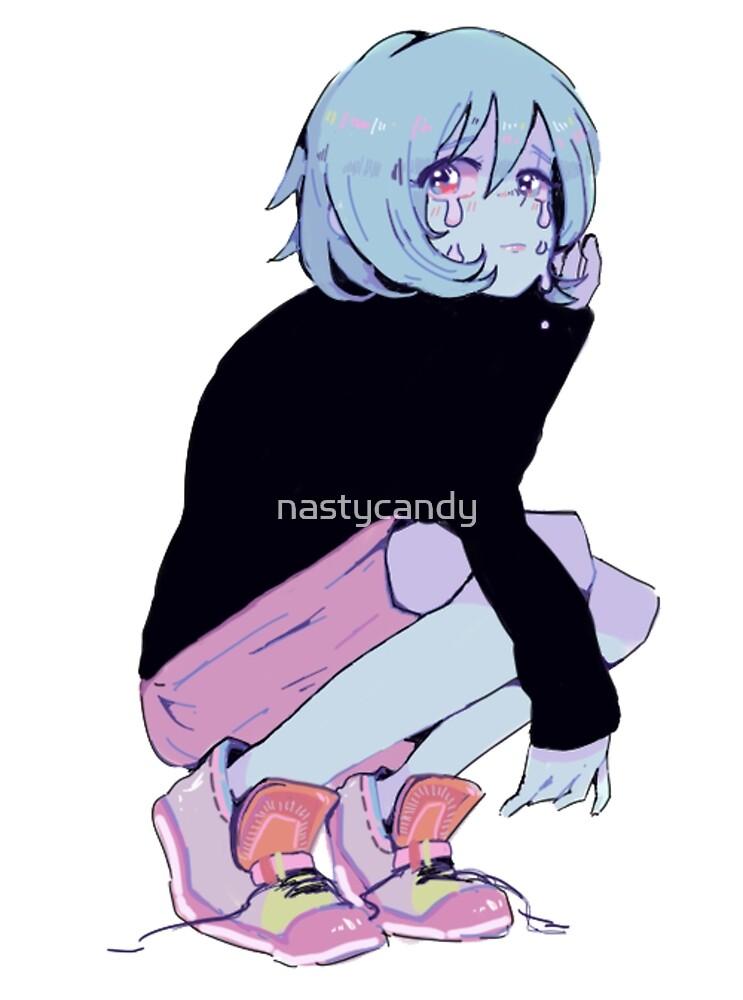 sad girl by nastycandy
