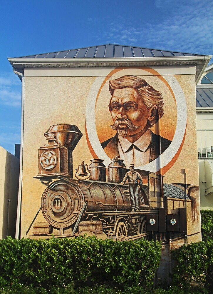 Punta Gorda Mural by Michiale