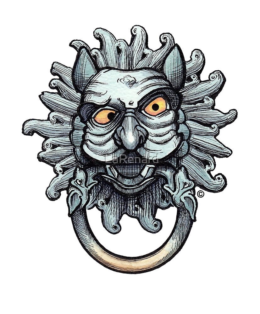 Mr Stevens - Medieval Monsters & Fabulous Beasts - Knock Knock by LaRenard