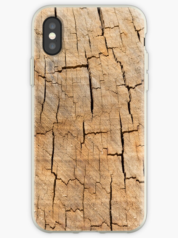 Shattered Wooden Log by textural