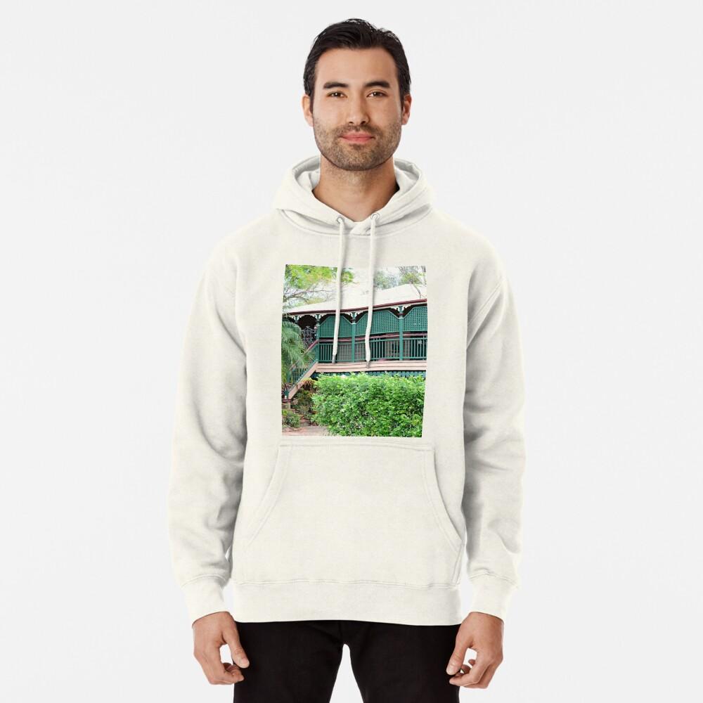 Inner city suburban house - Brisbane Pullover Hoodie Front