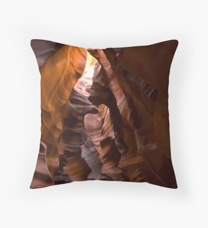 Upper Antelope Slot Throw Pillow