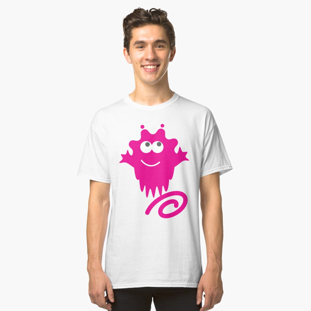 Happy Spring Alien Classic T-Shirt Front