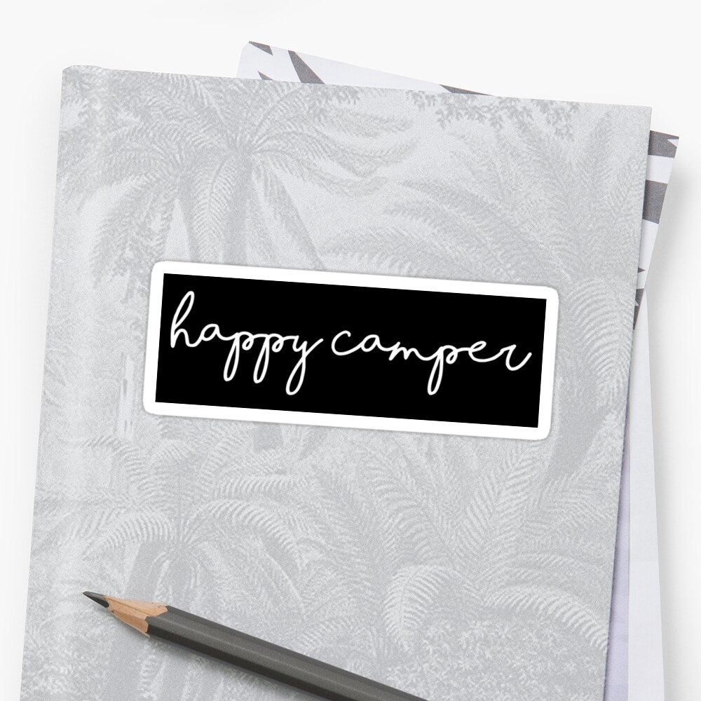 happy camper by MadEDesigns
