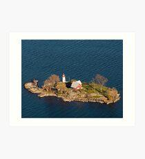 Crossover Island Light Art Print