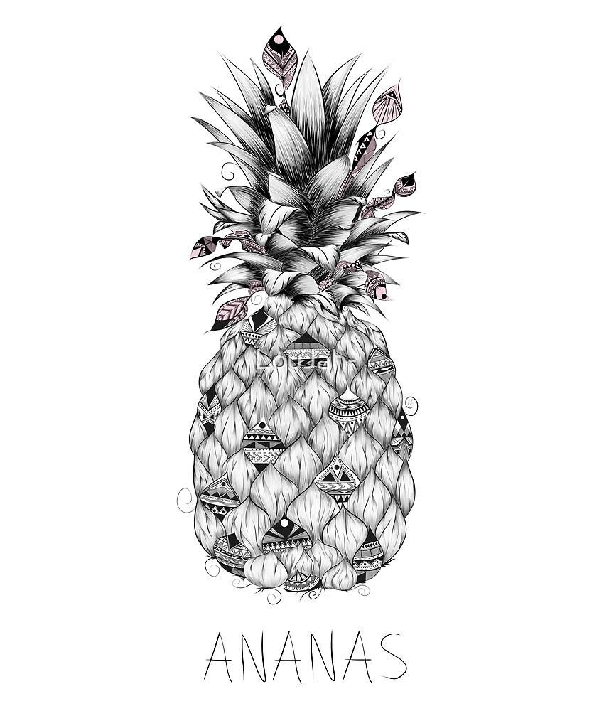 Ananas Pink Version by LouJah-